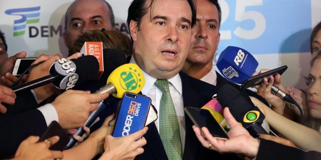 #Brasil| MAIA LANÇA PRÉ-CANDIDATURA CERCADO DE LÍDERES GOVERNISTAS