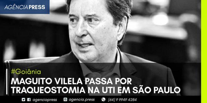 🏥📄 #Goiânia | MAGUITO VILELA PASSA POR TRAQUEOATOMIA NA UTI