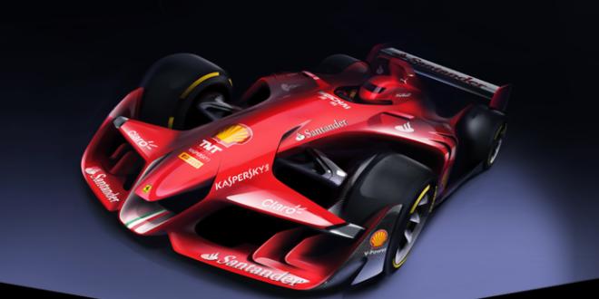 Ferrari inova e aparece com carro conceito futurista para 2015