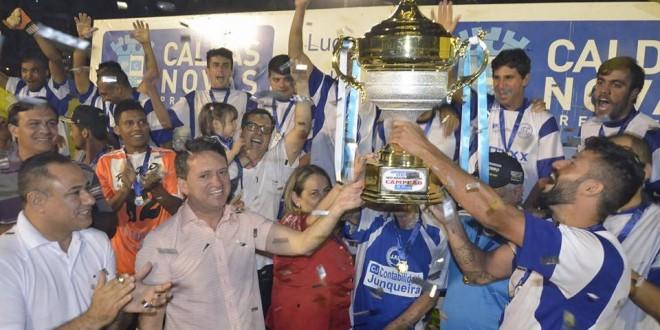 Junquerlândia Futebol Clube vence Campeonato Municipal de Caldas Novas