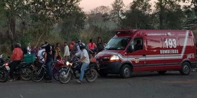 #CaldasNovas  MOTORISTA 'VISIVELMENTE' EMBRIAGADO PROVOCA ACIDENTE