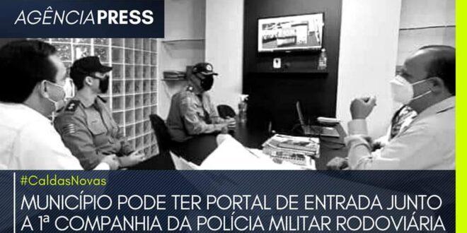 #caldasnovas | MUNICÍPIO PODE TER PORTAL JUNTO A POLÍCIA MILITAR RODOVIÁRIA