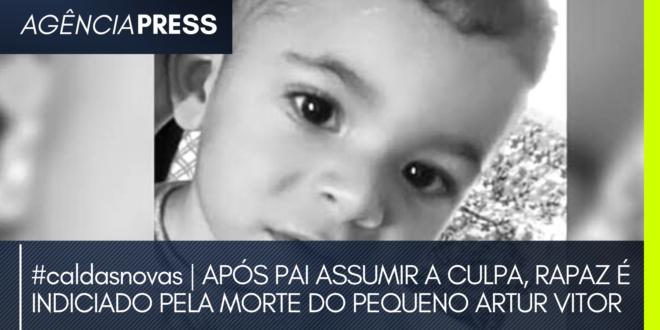 #caldasnovas | APÓS PAI ASSUMIR A CULPA, RAPAZ É INDICIADO