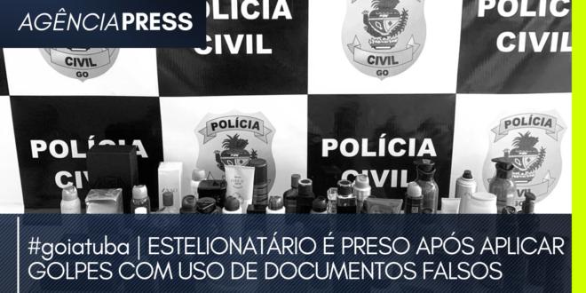 #goiatuba | ESTELIONATÁRIO É PRESO APÓS APLICAR GOLPES