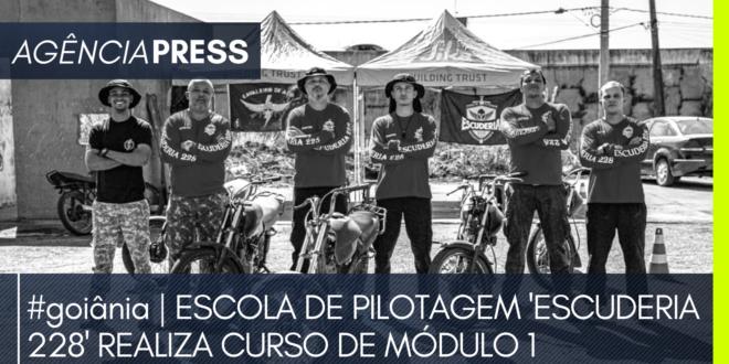 #goiânia | ESCOLA DE PILOTAGEM 'ESCUDERIA 228' REALIZA CURSO DE MÓDULO 1