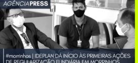 #morrinhos | IDEPLAN DÁ INÍCIO ÀS PRIMEIRAS AÇÕES DE REGULARIZAÇÃO FUNDIÁRIA