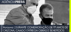 #orizona | DURANTE COMEMORAÇÃO DE 171 ANOS DE ORIZONA, CAIADO ENTREGA BENEFÍCIOS